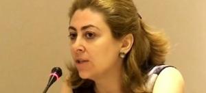 Κατερίνα Σαββαΐδου  γενική γραμματέας δημοσίων εσόδων