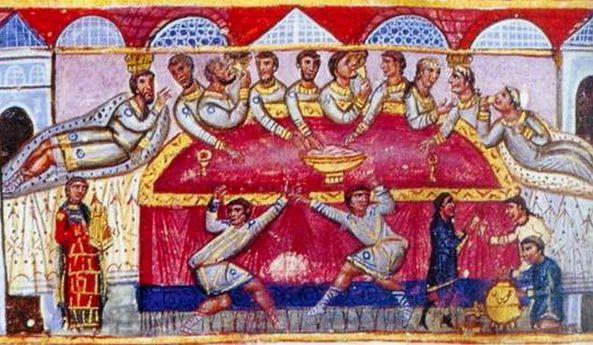 Βυζαντινό Φάγητο