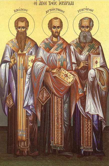 Οι τρεις Ιεράρχες,...