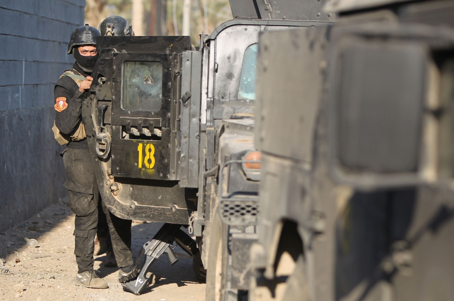 Iraq's elite counterterrorism service