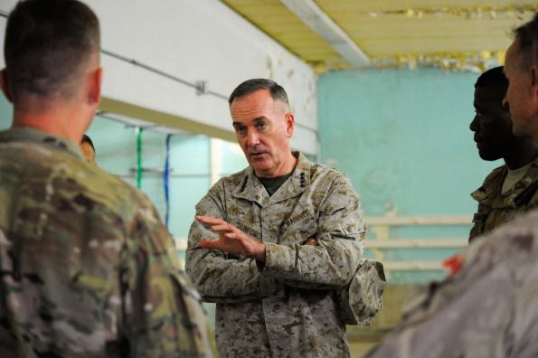 Gen. Dunford touring a facility in Kabul Base Cluster -Flickr